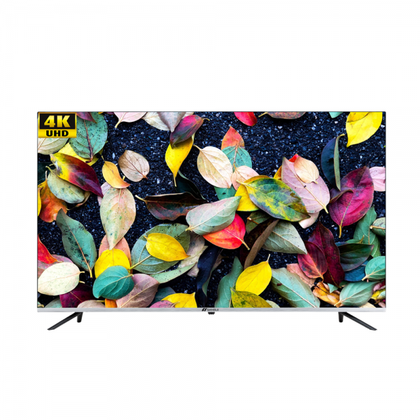 Sansui JSW55ASUHD 55 inches (140 cm) Ultra HD Android Smart Television with Bezel less and Thin Display (Black)