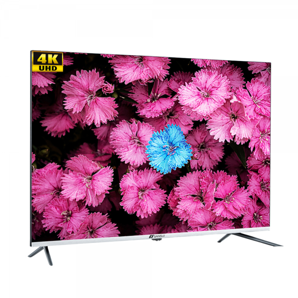 Sansui JSW50ASUHD 50 inches (127 cm) Ultra HD Android Smart Television with Bezel less and Thin Display (Black)