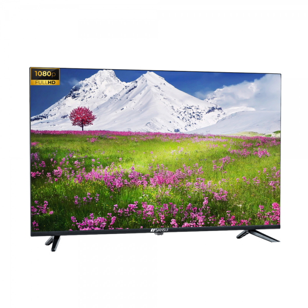 Sansui JSW43ASFHD 43 Inches (109 cm) Full HD Android Smart Television (Black)