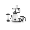 Philips HL7763/00 750 Watts Juicer Mixer Grinder with 4 Jars For perfect grinding, chopping, kneading & juicing(White and Black)