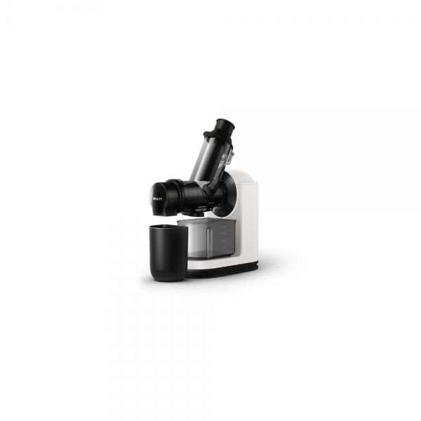 Philips HR1887/81 150 Watts Masticating (Slow) Juicer with Quick Clean ( Black with White)