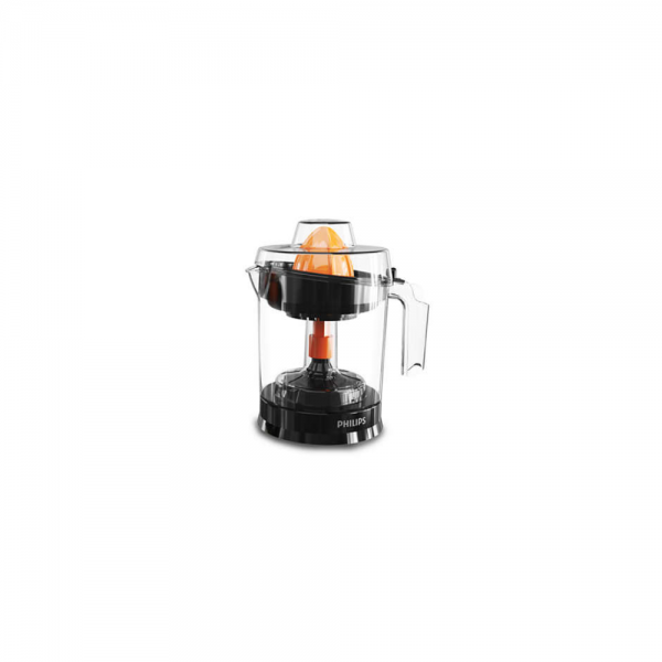 Philips HR2799/00 25 Watts Citrus Press with Pulp Selector, Drip Stop, Up to 80% Juice extraction (Black)