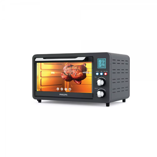 Philips HD6975/00 1500 Watts Oven Toast Grill (0TG) with Opti Temp Technology for healthy home made cooking (Anthracite)