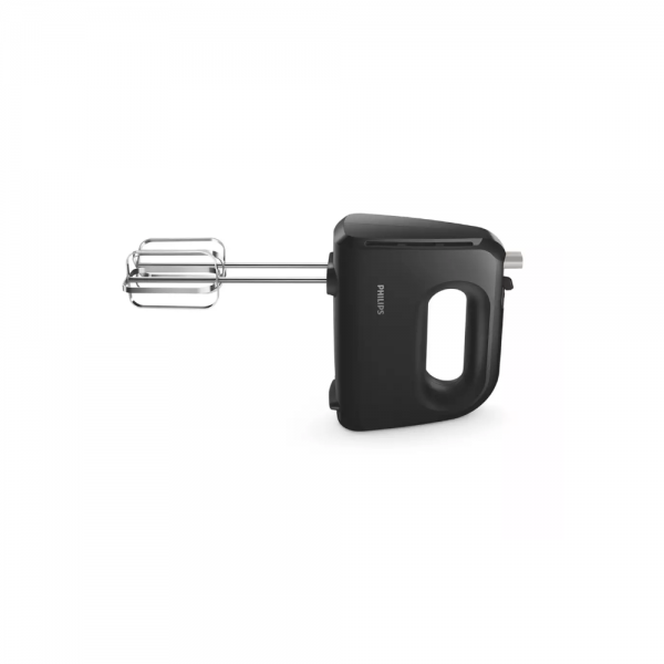 Philips HR3705/10 300 Watts Hand Mixer with Lightweight and faster with cone-shaped beaters (Black)