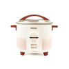 Philips HL1666/00 Rice Cooker with 2.2 Litres Conventional, Double Pan Tasty rice, each time, automatically (White with Pistil Red)