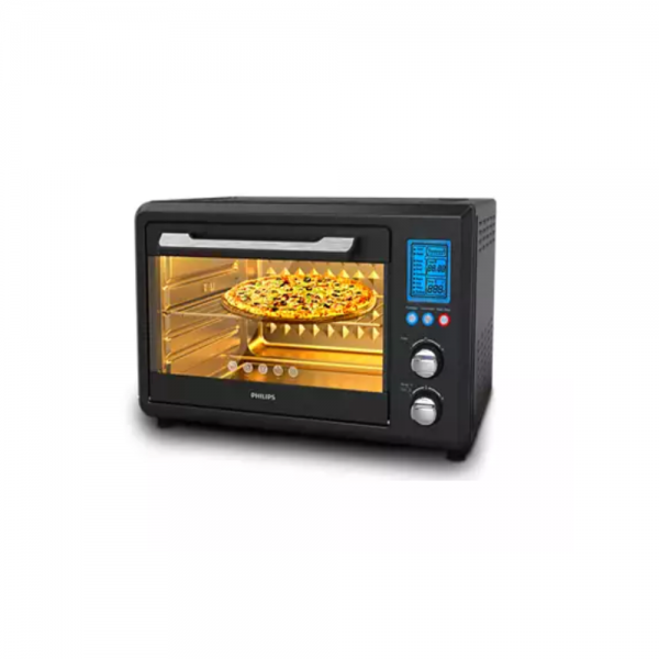Philips HD6976/00 2000 Watts Oven Toast Grill (0TG) with Opti Temp Technology for healthy home made cooking (Black)