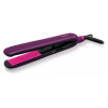 Philips BHS384/00 Straightener Brush with Temperature Control for Easily straighten and style your hair at home( Purple)