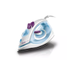 Philips GC1905/21 1440 W Steam Iron With Black American Heritage soleplate, Speed shaped soleplate (White and Blue)
