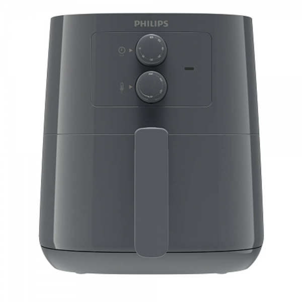 Philips HD9200/60 1400 W Airfryer With Spectre Com Analogue Delicious fries with up to 90% less fat (Slate grey)