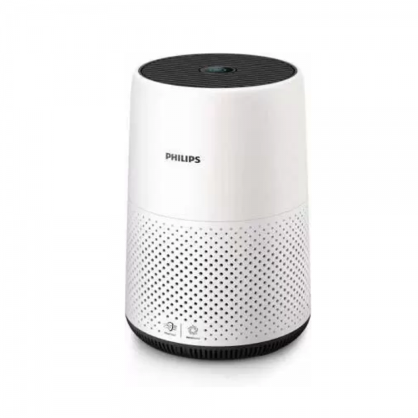 Philips AC0819/20 20W Air Purifier 800 Series, Nano Protect HEPA filter, (White and Light Grey)