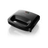 Philips HD2394/99 820 W Sandwich Maker With Panini Grill 25% more volume for bigger breads, even browning ( Black)