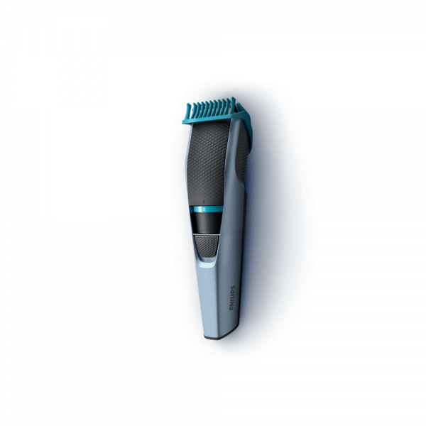 Philips BT3102/15 Beard Trimmer with Trim system cuts 30% faster for Men ( Blue)