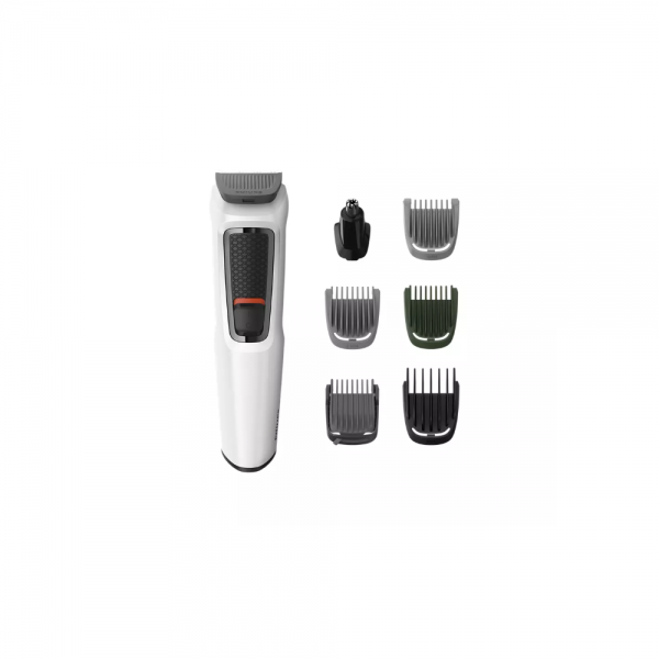 Philips MG3721/77 Multi Groom series 3000 7-in-1 Trimmer with Self-Sharpening for Men ( Black )