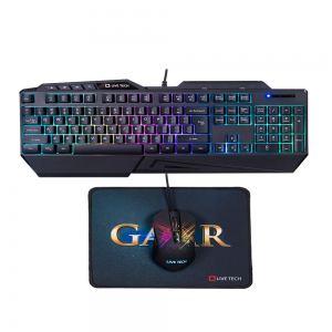 Live Tech GameR Gaming Combo With Keyboard Mouse & Mouse Pad