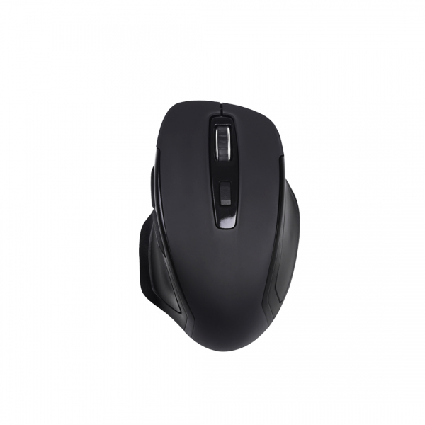 Live Tech Silk Wireless Mouse 6D with 3 DPI Modes (Black)