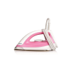 PhilipsGC158/02 1100 W Dry Iron With Golden American Heritage soleplate, Lightweight, quality iron (White and Pink)