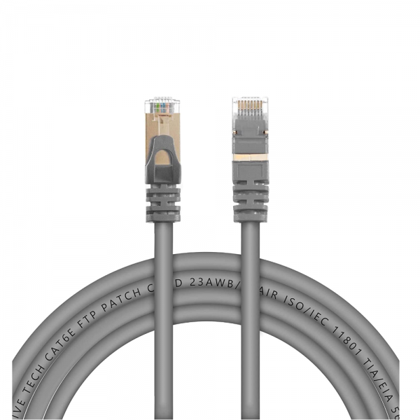 Live Tech CAT6E 20 Meter Ethernet FTP 23AWG 7 * 0.18mm CCA PVC Patch Cord with 50U CAT6E FTP Connector - 65 feet