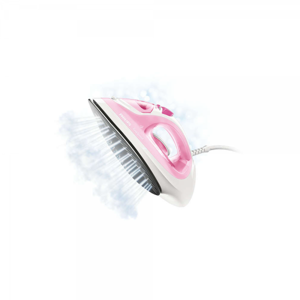 Philips GC1022/40 2000 W Steam Iron With Black American Coating soleplate, Black American Coating (Pink)