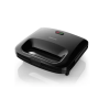 Philips HD2393/99 820 W Sandwich Maker With Cut and Seal, 25% more volume for bigger breads, even browning ( Black)