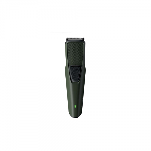 Philips BT1230/15 Trimmer Stainless Steel Blades, Protects against nicks and cuts for Men ( Green)