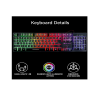 Live Tech Armour Gaming Combo RGB Keyboard Mouse Combo (Armour)