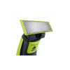 Philips QP252510 One Blade Hybrid Blister Pack for Easy Styling and Precise Edges for Men ( Lime green)