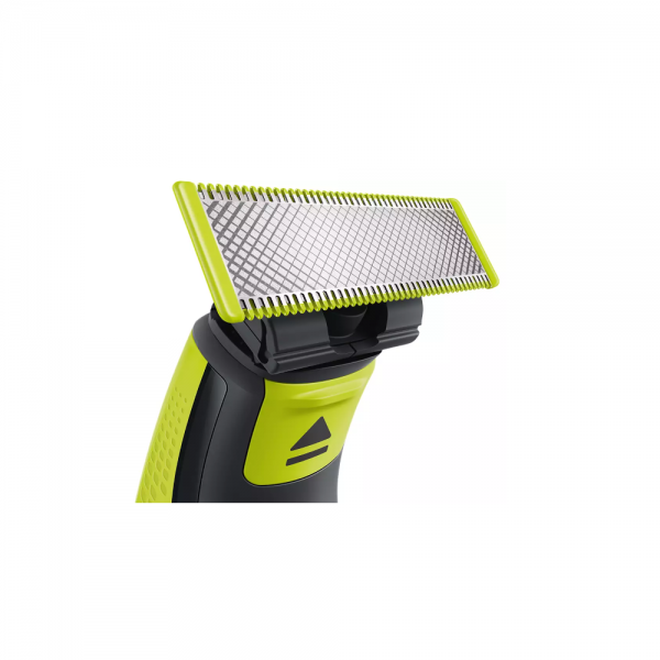 Philips QP220/51 Blister Blade 2 Pack of Replaceable blade, Designed to cut hair, not skin for Men ( Lime green)