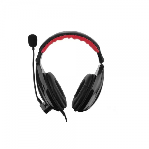 Live Tech HP24-Black Wired Headset (Black, On the Ear)