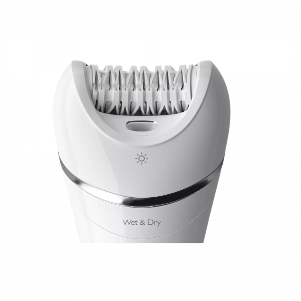 Philips BRE710/00 Epilator with Mid End Closed Box Smooth skin for up to 4 weeks ( White)