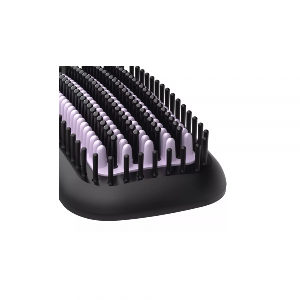 Philips BHH880/10 Heated Straightener Brush with Keratin Infused Bristles for Smooth, shiny, frizz-free hair ( Black)