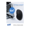 Live Tech Art Wireless Vertical Mouse 6D with 3 DPI Modes