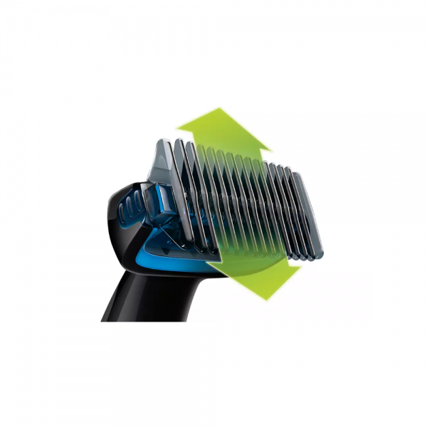 Philips BG1024/16 Body Groomer Series 1000 with Shower Cord Shaver For Men ( Black with Blue)