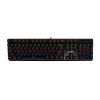 Redgear MK881 Invador Professional Mechanical Keyboard with Kailh Blue switches, Lightning Effect and Windows Key Lock (Black)