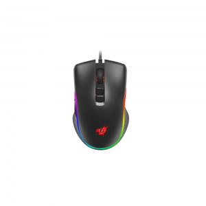 Redgear   Wired Gaming Mouse with RGB and Upto 4800 dpi for Windows PC Gamers (Black)