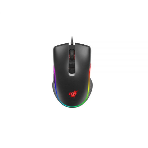 Redgear A-20 Wired Gaming Mouse with RGB and Upto 4800 dpi for Windows PC Gamers
