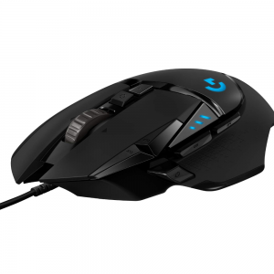Logitech G502 Hero Wired Gaming Mouse (Black)