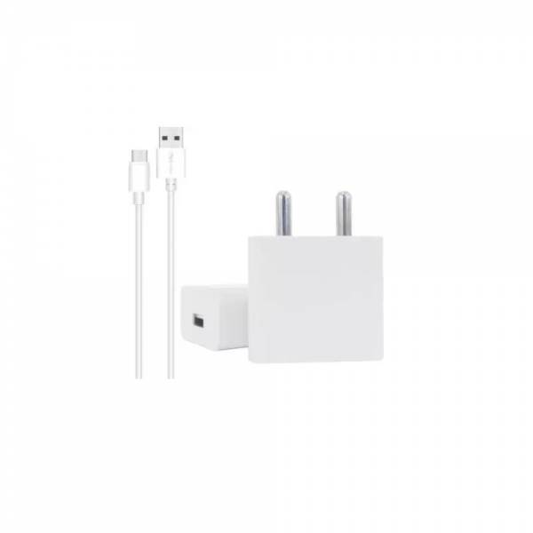 Portronics Adapto 442 2.0A Charger with Single USB Port (White)
