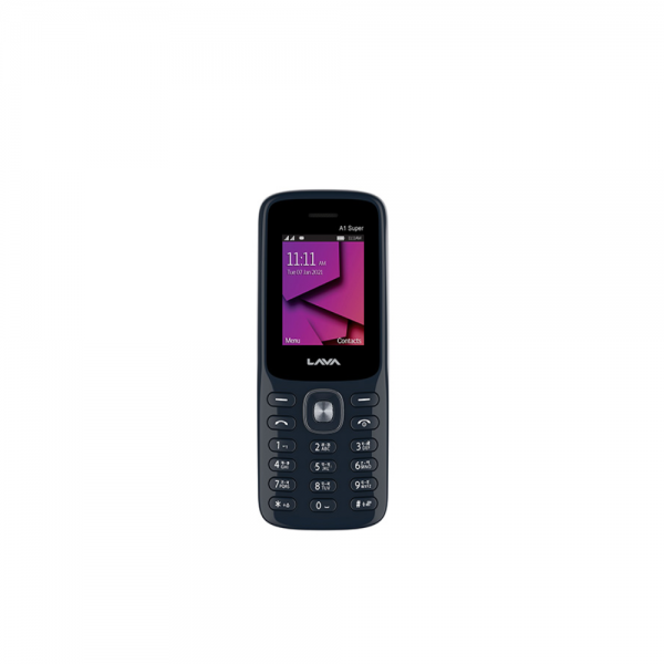 Lava A1 Super 21 Dual Sim with FM Player and Video Recorder (Blue)