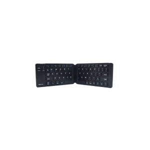portronics chicklet Wireless Rechargeable Foldable Keyboard...