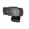 HP W200 HD 720p/30 Fps Webcam, Built-in Mic, Plug and Play, Wide-Angle View for Video Calling, Skype, Zoom, Microsoft Teams (Black)