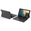Lenovo Duet Chrome Tab , Chrome OS 10.1 Inches Tablet, 128GB Storage, Wi-Fi only, 25.65' FHD with Keyboard (ZA6F0032IN, Ice Blue +Iron Grey)