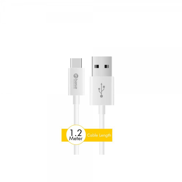 InBase Car Charger - 3.1A Dual USB with Type C Cable