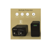 Portronics Adapto one (With Mirco Cable) 3.0A Single Port Adapter With Quick Charge (Black)