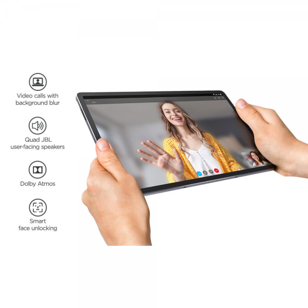 Lenovo P11 Pro J-706L, Android 10, 11.5 Inches Tablet, 128GB Storage, Wi-Fi 4G+LTE, 29.21' FHD (ZA7D0021IN, Slate Grey)