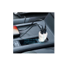 Portronics Car Power QC, QC Car Charger With Dual USB Ports (White)